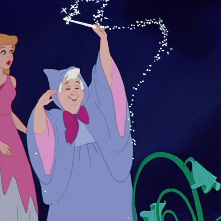 Cinderela e Fada Madrinha (1950)