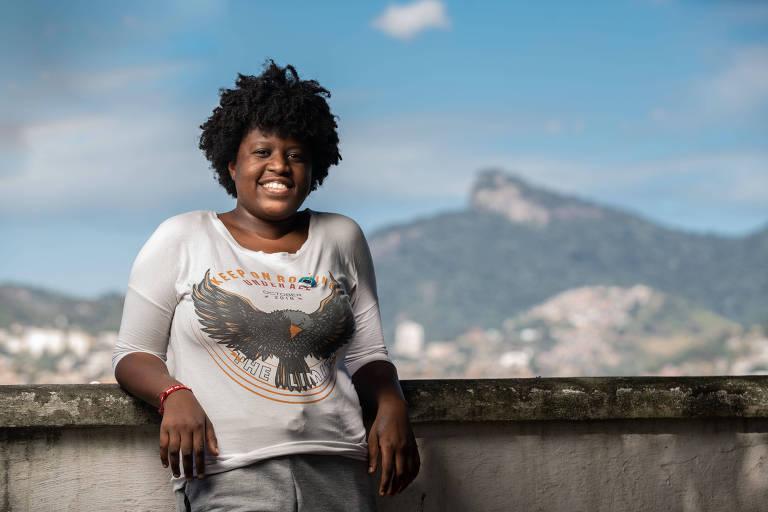 Ana Carolina da Hora, 24, aluna de ciência da computação de Duque de Caxias (RJ)