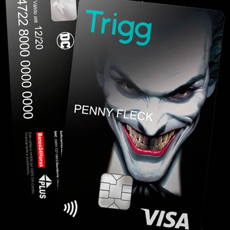 Depois de Batman e Aquaman, Coringa ganha cartão de crédito