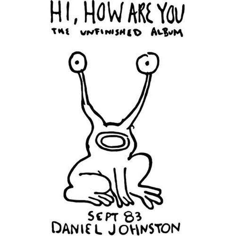 Capa do disco 'Hi, How Are You', de Daniel Johnston