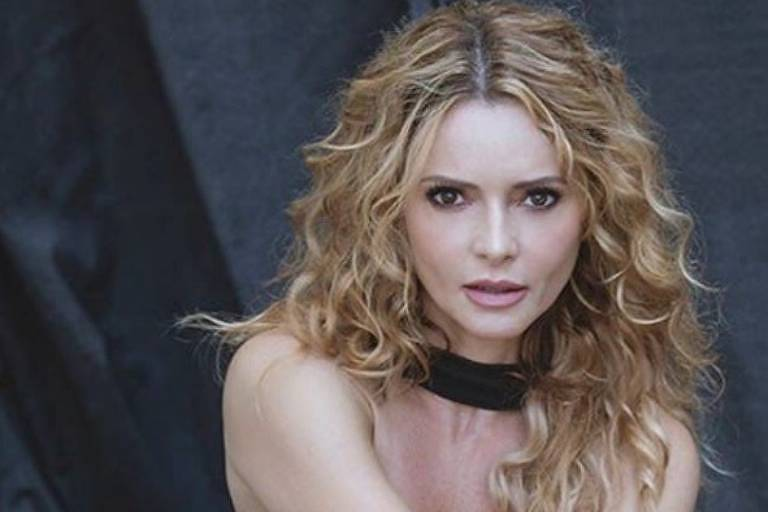 A atriz Rita Guedes, 47