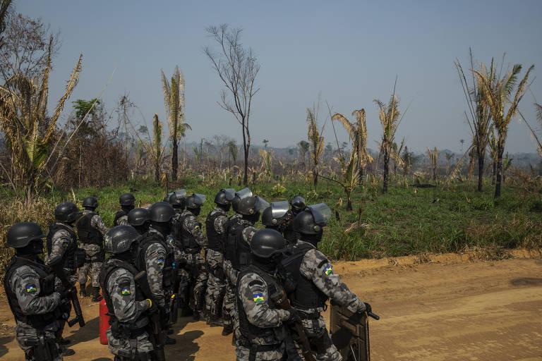 Reintegração de posse em unidade de conservação em Rondônia