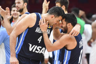 (SP)CHINA-WUHAN-BASKETBALL-FIBA WORLD CUP-GROUP B-NIGERIA VS ARGENTINA (CN)