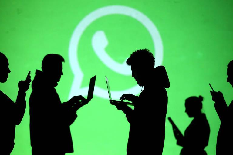 Logo do WhatsApp; pesquisa mostra que conhecimento sobre negócios digitais é baixo nos EUA