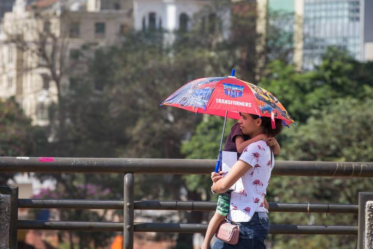 Capital registra dia mais quente desde fevereiro