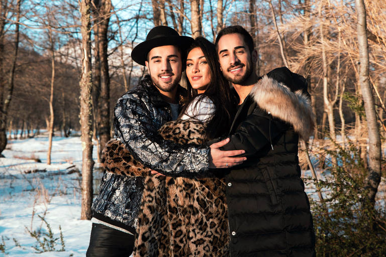 Imagens do trio Melim
