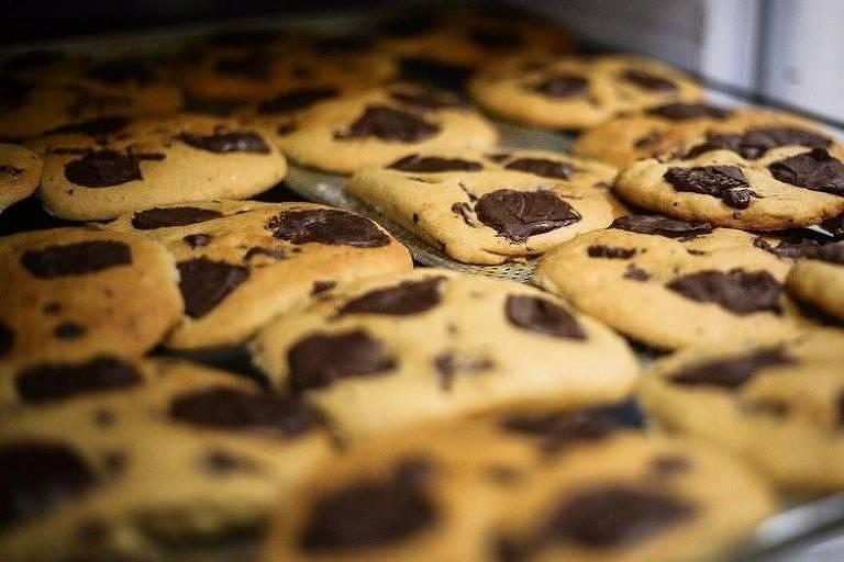 Cookie vegano da chef Kamili Picoli - Folha Corrida