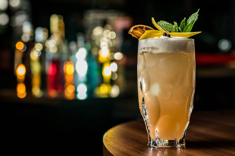 Drinque 'Zillis Cocktail', do Zillis Bar & Lounge