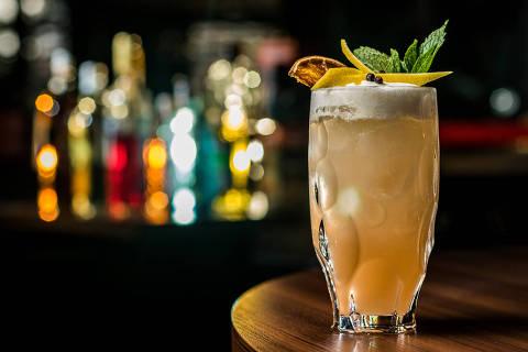 Drinque 'Zillis Cocktail', do Zillis Bar