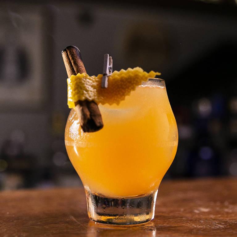 Drinque Gaya, do Eugênia Café Bar