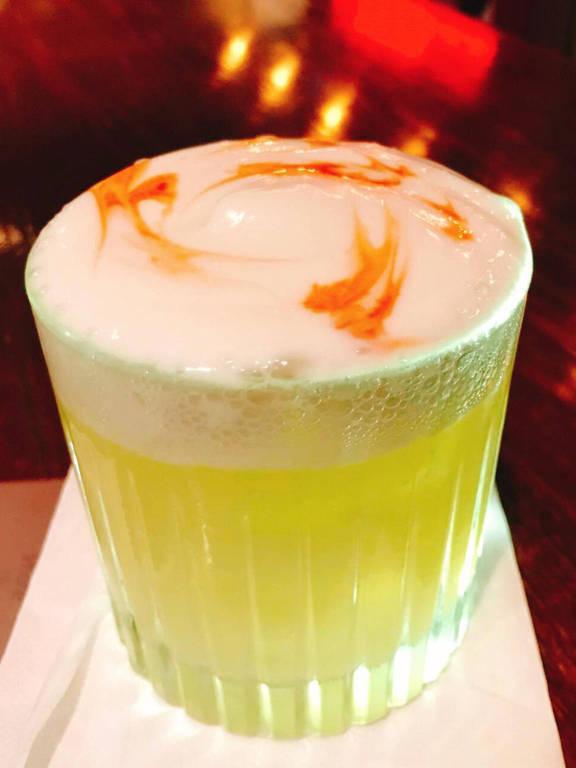 Drinque White Banzeiro, do bar Fortunato