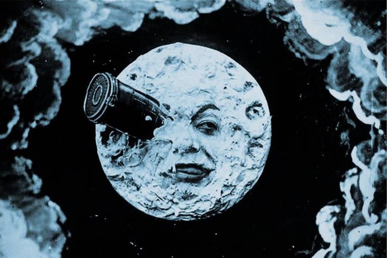 Cena do filme 'Viagem à Lua'
