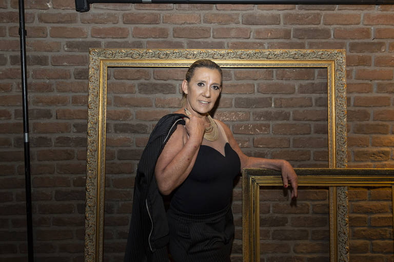 A atriz, cantora e dançarina Rita Cadillac