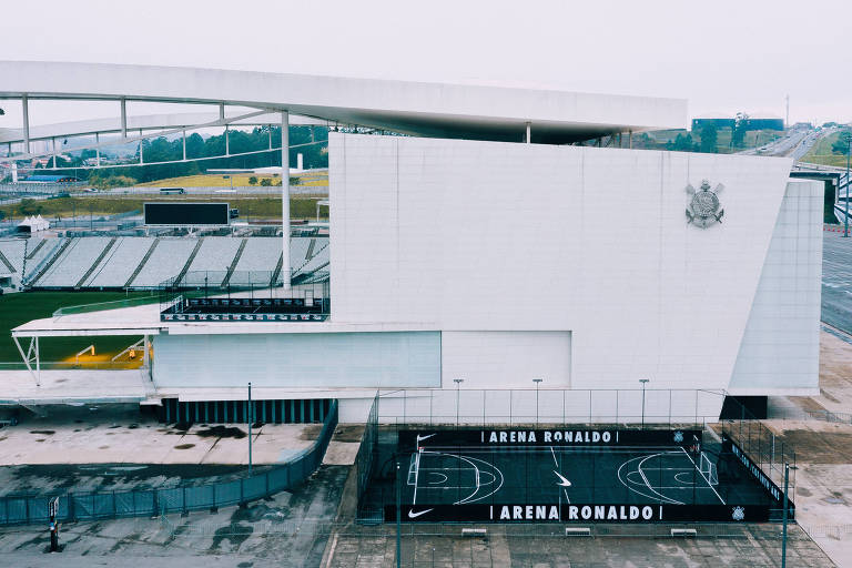 O estádio do Corinthians