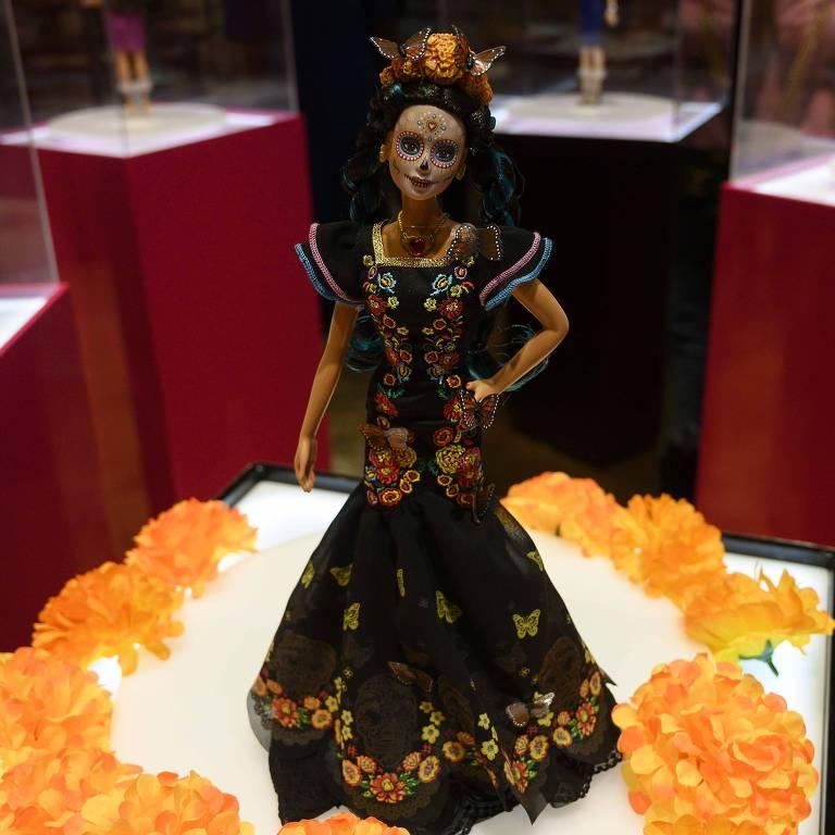 Edição especial da Barbie é lançada no México para o Dia dos Mortos
