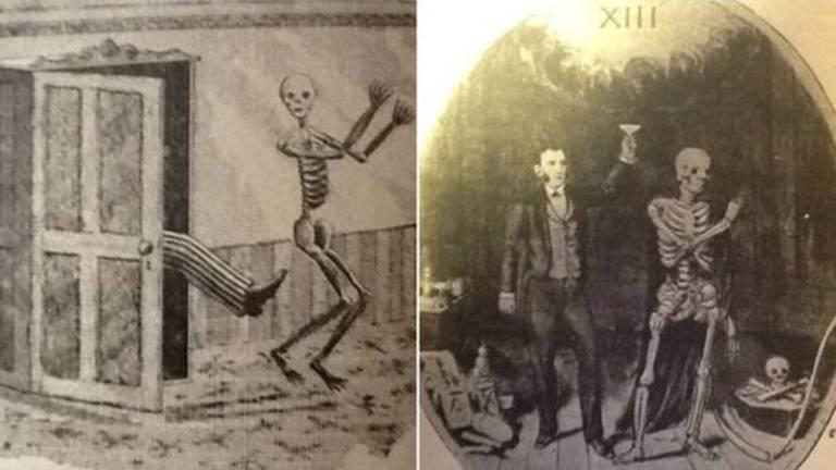 Documentos do Clube dos Treze faziam graça de superstições