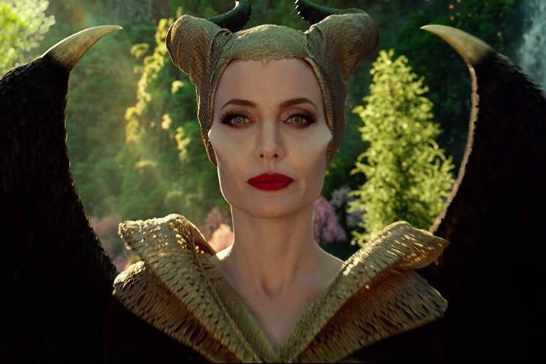 "Angelina Jolie em ""Malévola: Dona do Mal"" (2019)"