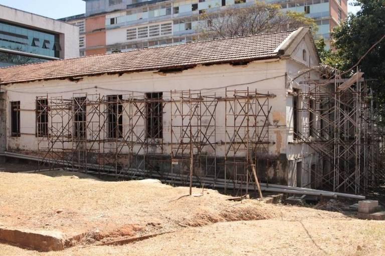 Obras do Memorial da Anistia, em Belo Horizonte, estão paradas desde 2016