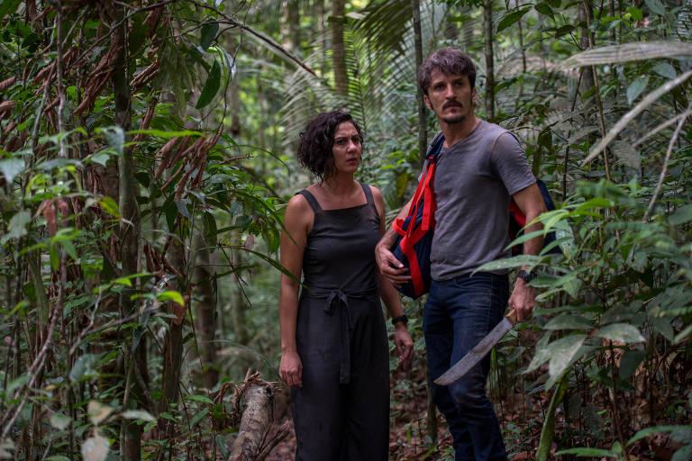 """Cena da série """"Jungle Pilot"""""""