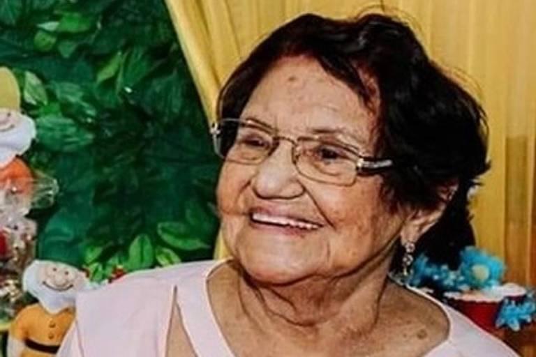 Luzia dos Santos Melo, 88, uma das vítimas do incêndio no Hospital Badim, no Rio