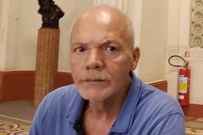 Virgílio Claudino da Silva, 66, vítima do incêndio no Hospital Badim, no Rio