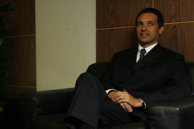 Márcio Lobão, filho de Edison Lobão, em foto de 2009, quando presidia a Brasilcap
