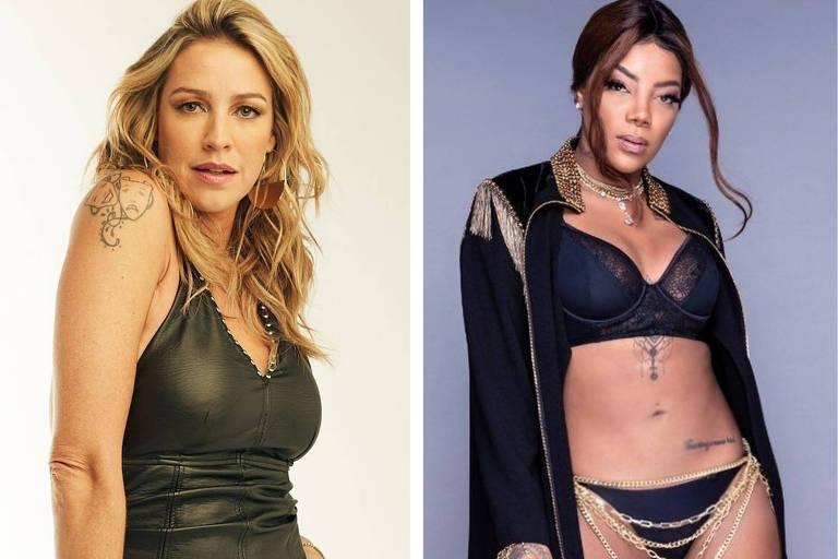 Luana Piovani e Ludmilla trocam farpas nas redes sociais