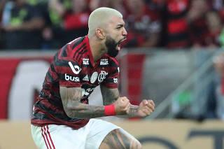 Brasileiro Championship - Flamengo v Santos