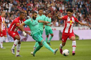 FUSSBALL-TESTSPIEL: RED BULL SALZBURG - REAL MADRID