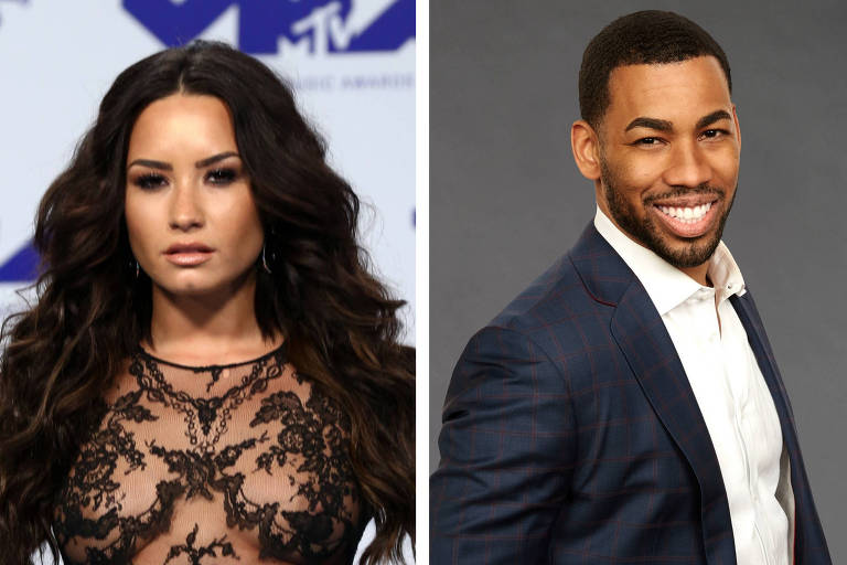 Demi Lovato trocou mensagens e elogios com ex participante do The Bachelorette Mike Johnson