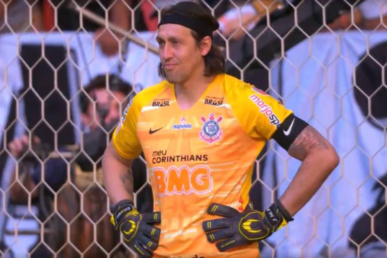 Cássio leva frango, e Corinthians perde para o Fluminense