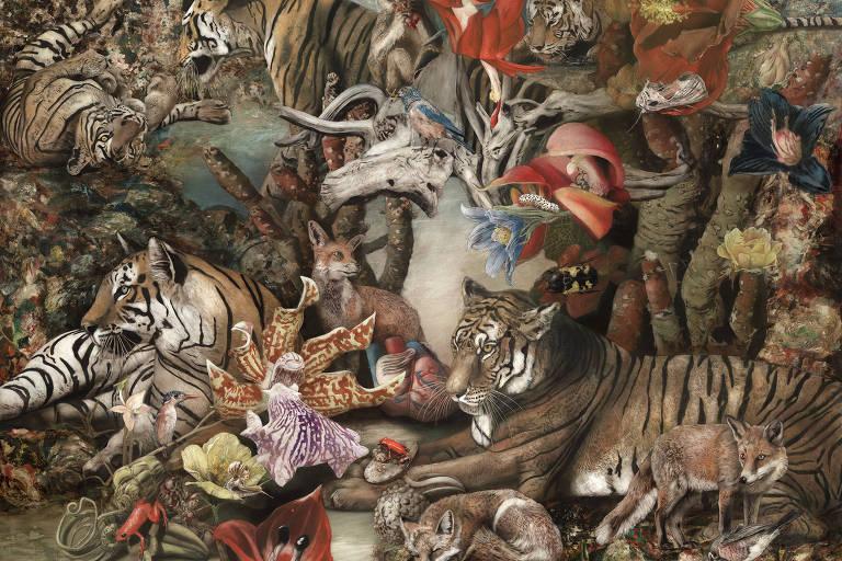 """""""Screenplay"""", de Corvengi, da galeria Villa del Arte, exposta na Contemporary Istanbul"""