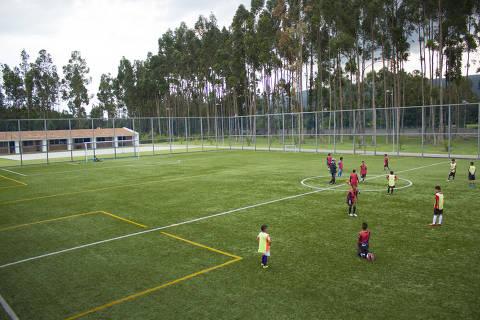 Centro de treinamento do Independiente Del Valle, do Equador. Crédito: IDV/Divulgação