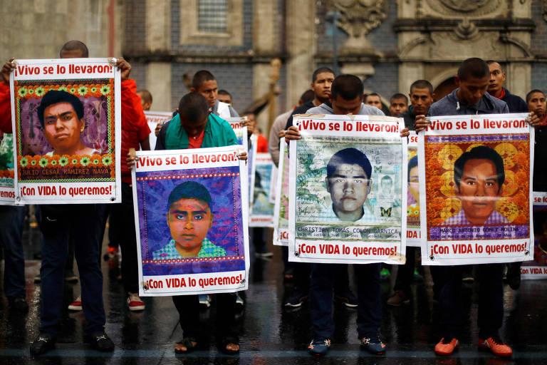 24 suspeitos do caso dos 43 estudantes desaparecidos no México são libertados