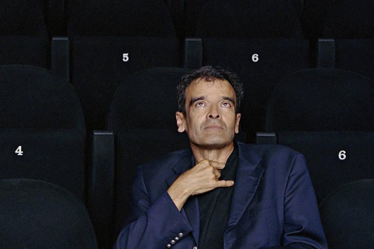 Retrato de Harun Farocki em 2007