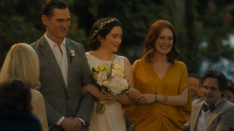 Cena do filme 'Depois do Casamento', com Michelle Williams e Julianne Moore