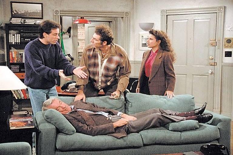 """Cena do episódio """"The Alternate Side"""", da série Seinfeld"""