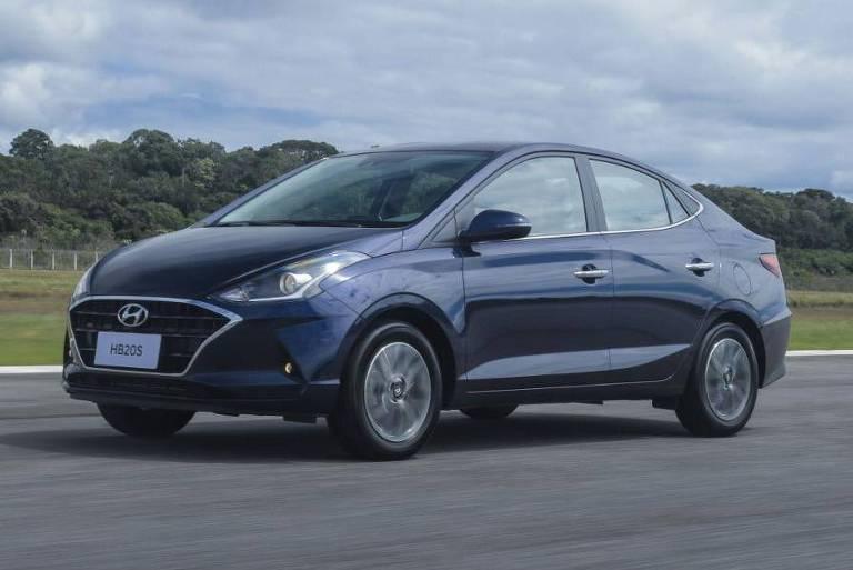 Hyundai HB20S de segunda geração