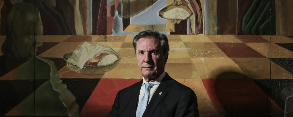 O senador e ex-presidente Fernando Collor de Mello
