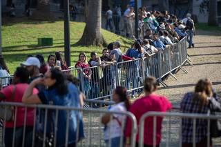 Trabalhadores buscam vaga em São Paulo