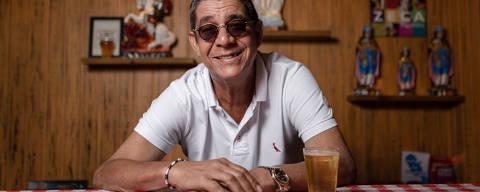 RIO DE JANEIRO, RJ, 16.09.2019: O cantor Zeca Pagodinho lanca novo album, Mais Feliz, nesta terca. Bar do Zeca Pagodinho. Barra da Tijuca, Rio de Janeiro (Foto: Zo Guimaraes/Folhapress, ILUSTRADA) ***EXCLUSIVO FOLHA***