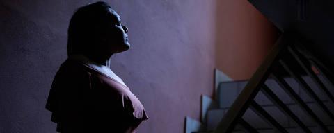 COTIDIANO  - SP - Talita Oliveira, que teve o nariz arrancado a mordidas pelo ex. Ela teve que se submeter a várias cirurgias. 06/09/2019.  Foto Marlene Bergamo/Folhapress. 017 -  SELENE 575134