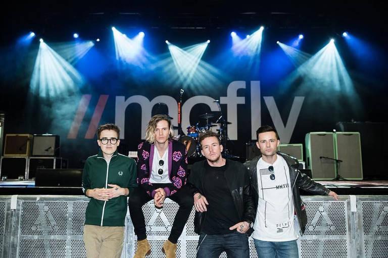 Imagens da banda McFly