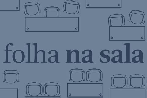 Capa do podcast Folha na Sala