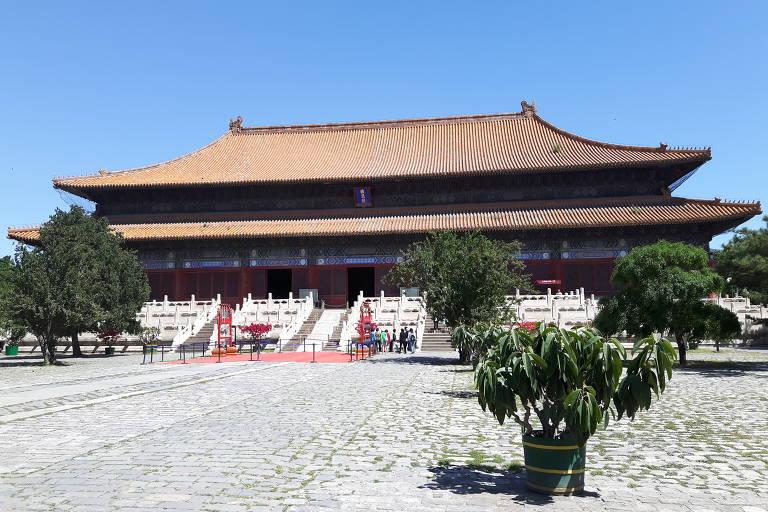 Leitor visita Cidade Proibida, em Pequim