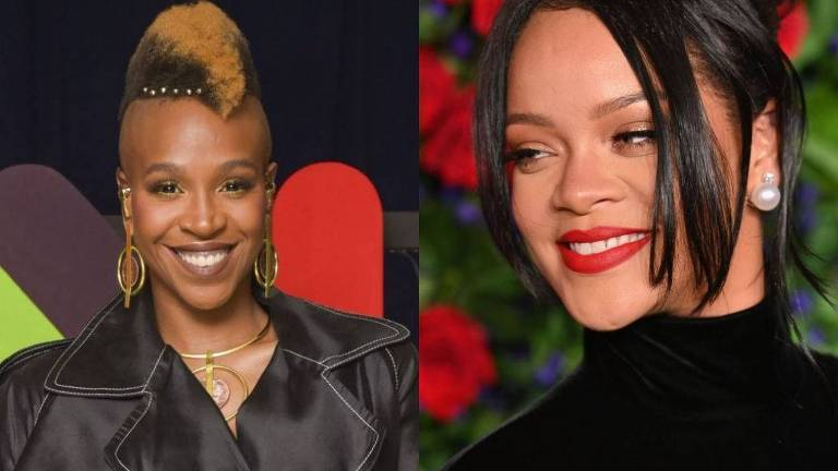 Rihanna aparece ao som de Karol Conka em evento da Fenty Beauty