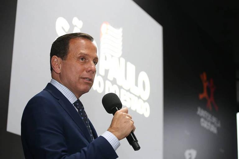 O governador de São Paulo, João Doria (PSDB), provável nome para a corrida presidencial de 2022