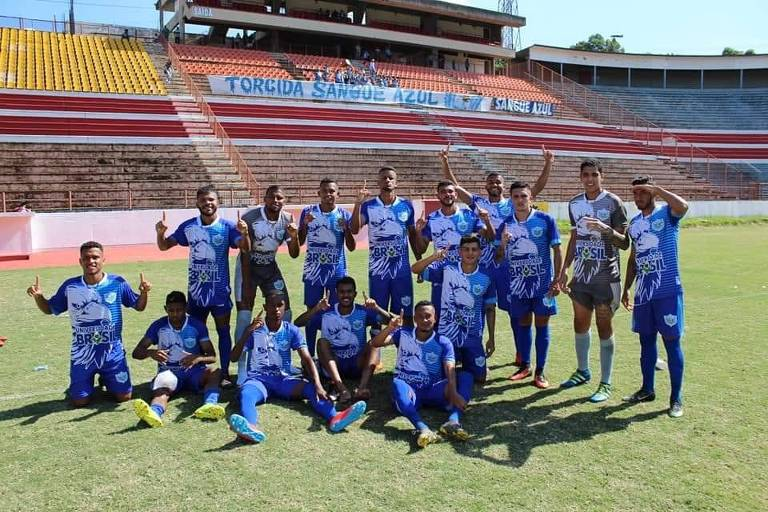 Equipe do Fernandópolis, o Fefecê, que disputa a Segunda Divisão do Campeonato Paulista