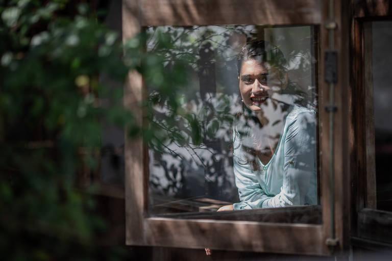 Ana Paula Silva, fundadora da Morada da Floresta, na sede da empresa, em São Paulo