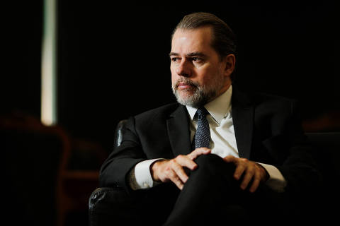 President of Brazil's Supreme Federal Court Dias Toffoli attends an interview with Reuters in Brasilia, Brazil September 12, 2019. Picture taken September 12, 2019. REUTERS/Adriano Machado ORG XMIT: GGGAHM04